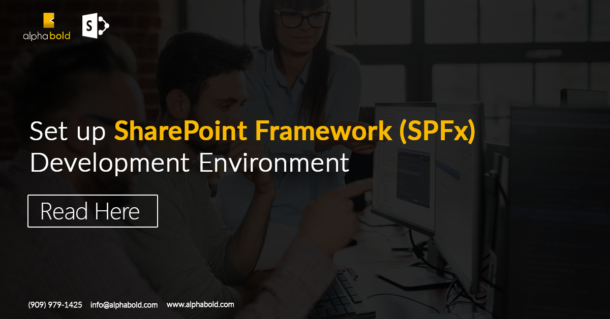 Set up SharePoint Framework