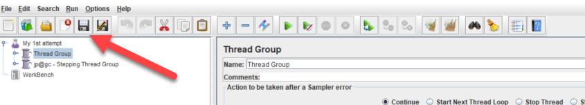 Create JMX file