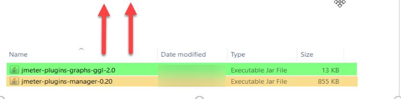 Plugin Jar files to JMeter 4
